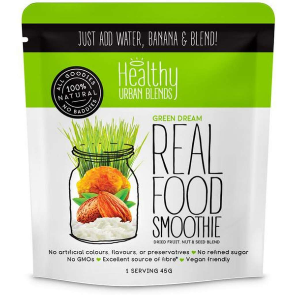 Healthy Urban Blends Real Food Smoothie Green Dream 45g