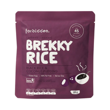 Load image into Gallery viewer, Forbidden Foods Brekky Rice Pudding Black Rice & Coconut 10x125g