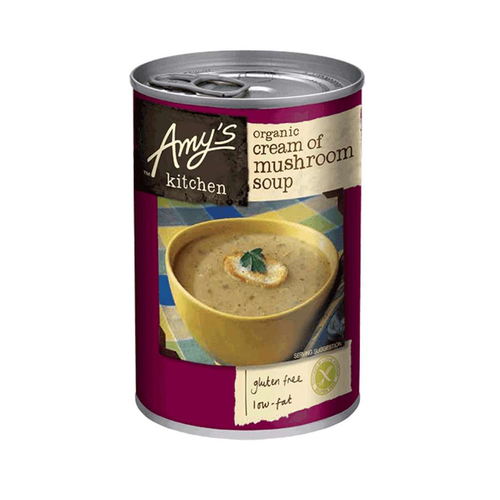 Amy's Kitchen Cream of Mushroom Soup - GoodnessMe