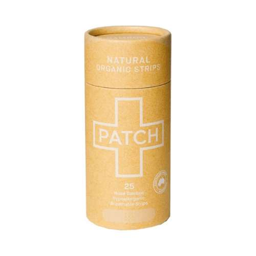 Patch Adhesive Bamboo Bandages Natural - Cuts & Scratches 25 pack - GoodnessMe
