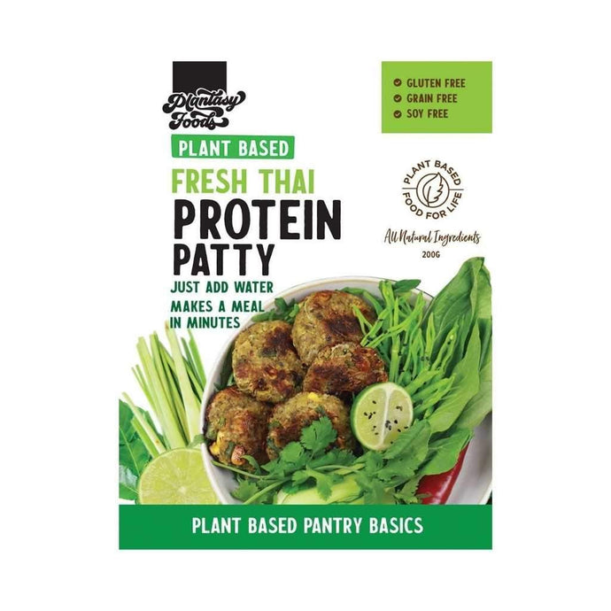 Plantasy Foods Protein Patty Mix Thai Flavours 200g