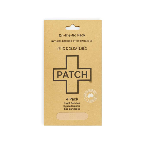 PATCH Organics Natural Bamboo Strip Bandages - GoodnessMe