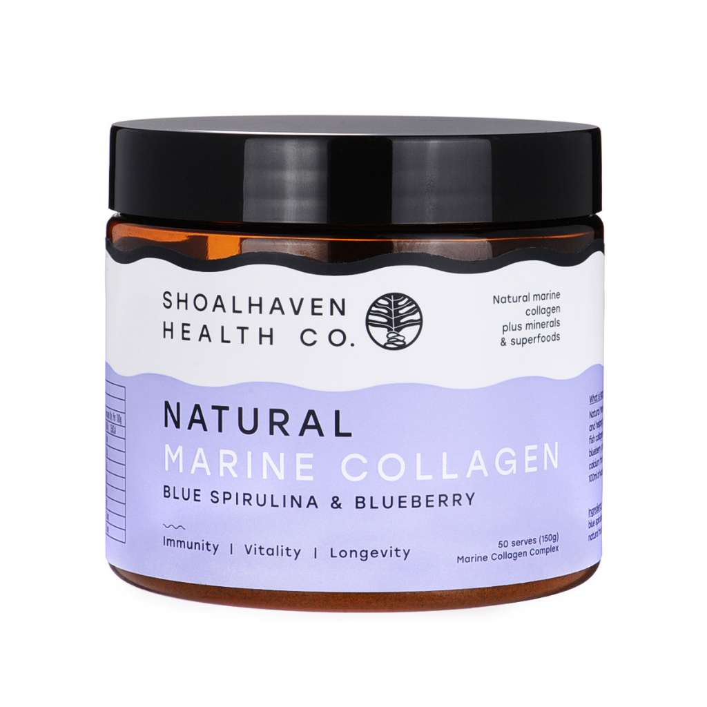 Shoalhaven Health Natural Marine Collagen Blueberry 150g