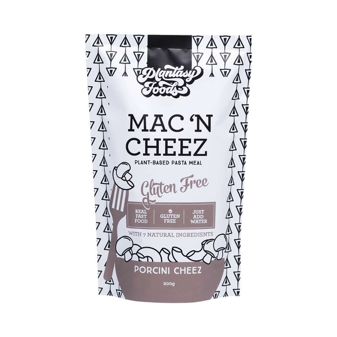 Plantasy Foods Mac N Cheez - Porcini Cheez 200g - GoodnessMe