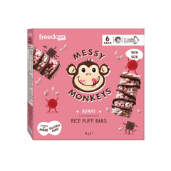 Messy Monkeys Berry Rice Puff Bars