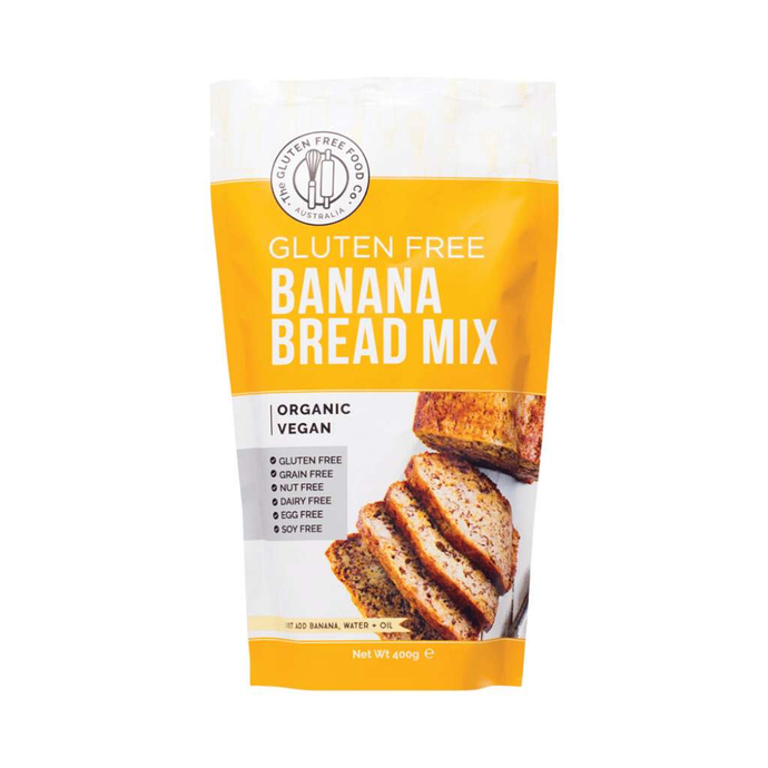 The Gluten Free Food Co Banana Bread Mix 400g - GoodnessMe