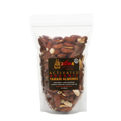 2Die4 Live Foods Activated Organic Tamari Almonds 1kg