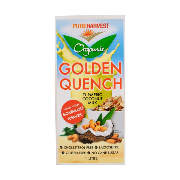 Pure Harvest - Golden Quench Turmeric Coconut Milk 1L