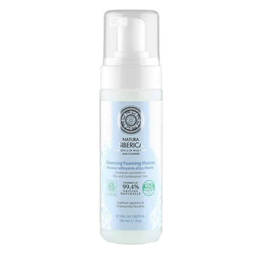 Natura Siberica Cleansing Foaming Mousse 150ml - GoodnessMe