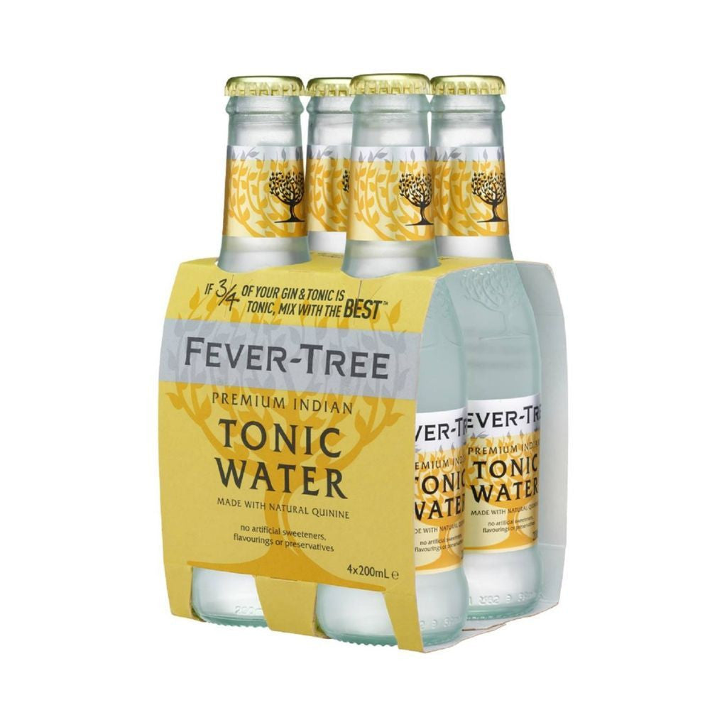 Fever-Tree Indian Tonic Water 4x200ml pack