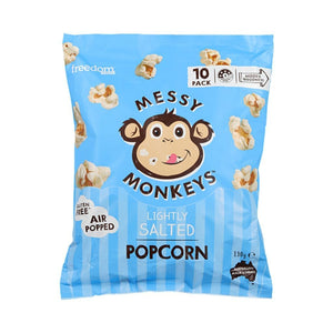 Messy Monkeys Lightly Salted Popcorn 130g