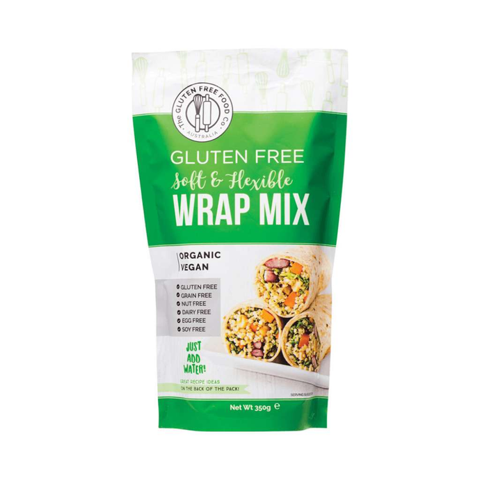 The Gluten Free Food Co Soft & Flexible Wrap Mix 350g - GoodnessMe