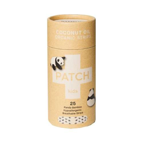 Patch Adhesive Bamboo Bandages Coconut - Abrasions & Grazes 25 pack - GoodnessMe