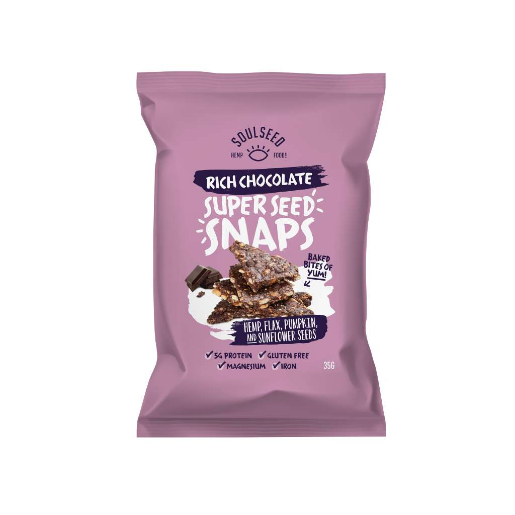 Soul Seed Super Seed Snaps Rich Chocolate