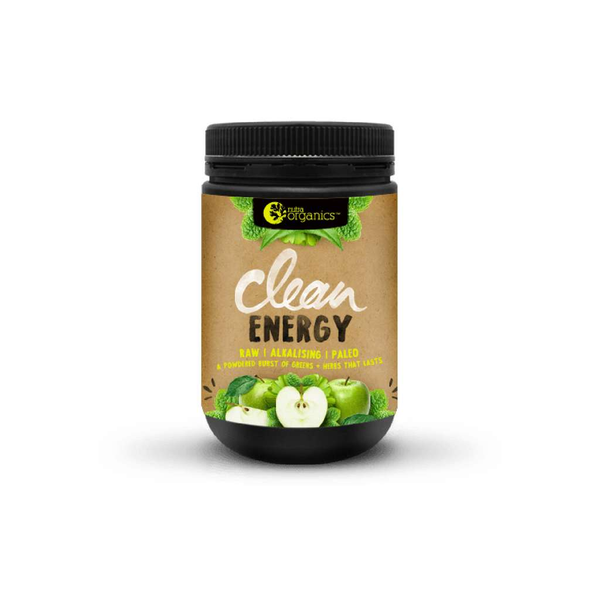 Nutra Organics - Clean Energy Apple + Mint 150g
