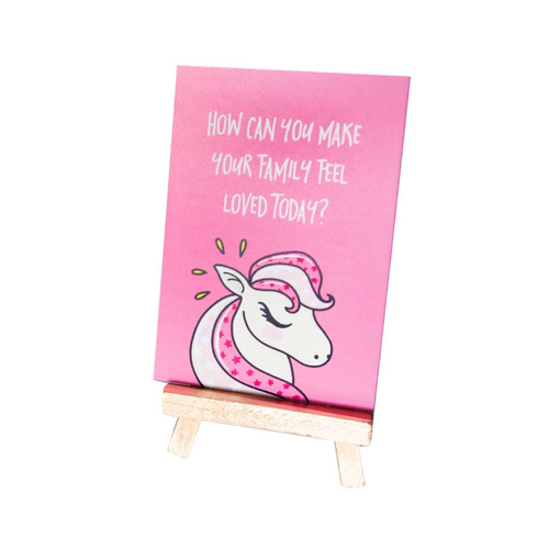 Project Goddess Kids Goddess Daily Intentions - Unicorn - GoodnessMe