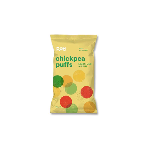 Pangkarra POD PUFFS Lemon, Lime and Chilli 10x90g