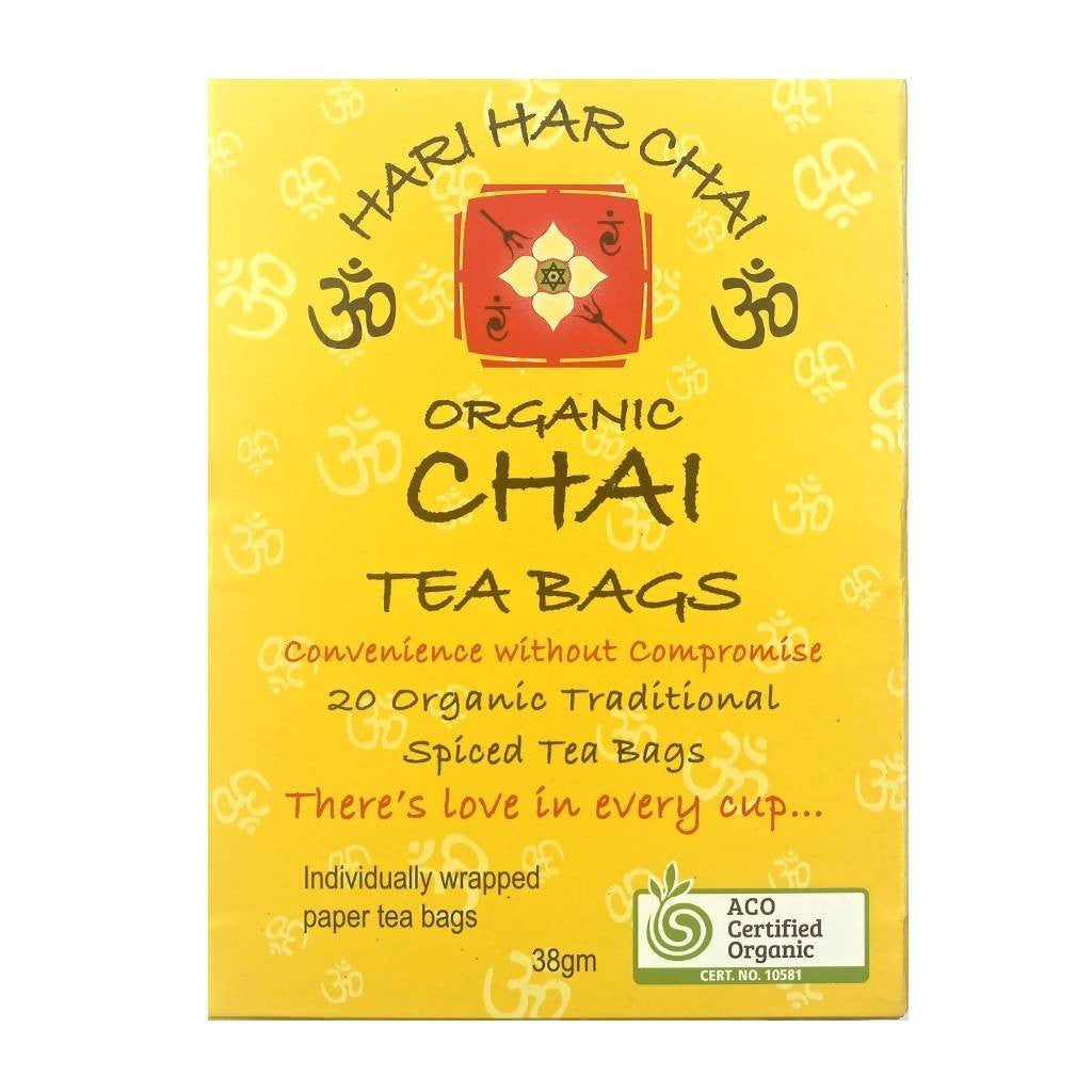 Hari Har Chai Organic Chai Tea Box 8 x 380g Bundle