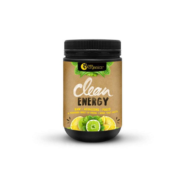 Nutra Organics - Clean Energy Lemon + Lime 150g