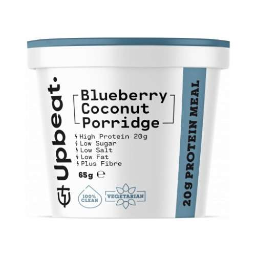 Upbeat Porridge Blueberry Coconut 6x 65g - GoodnessMe