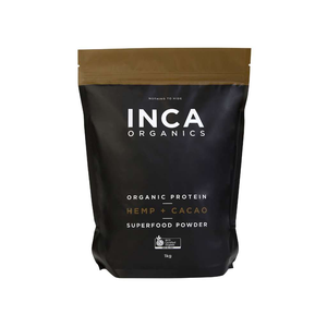 Inca Organics Certified Organic Hemp + Cacao Protein & Superfood Powder 1kg