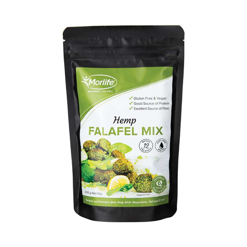 Morlife Hemp Falafal Mix 200g - GoodnessMe