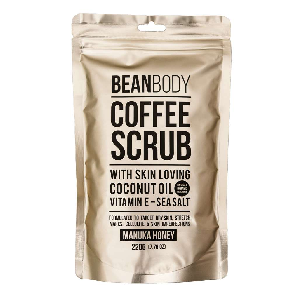 Bean Body Care Manuka Honey Coffee Scrub 220g