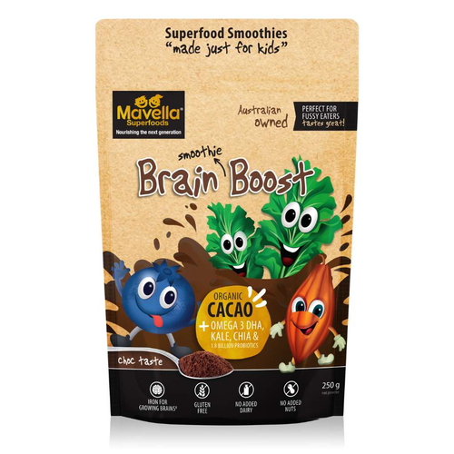 Mavella Superfoods Brain Boost 250g - GoodnessMe