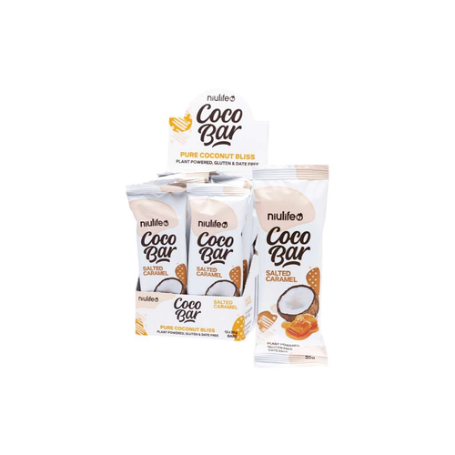 Niulife Coco Bar Salted Caramel 12x 35g