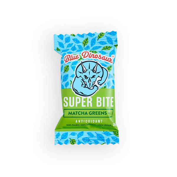 Blue Dinosaur - Super Bite Matcha Greens 30g