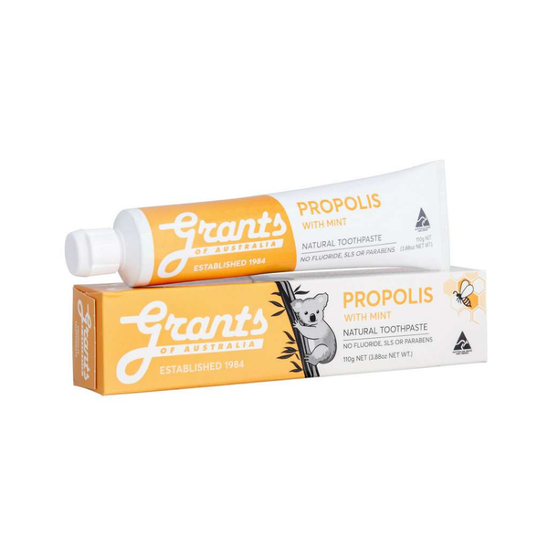 Grants of Australia - Propolis with mint natural toothpaste 110g