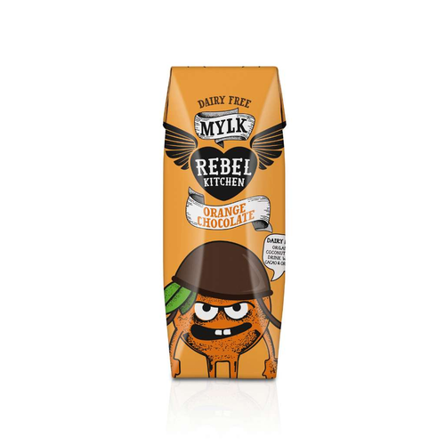 Rebel Kitchen Orange Chocolate Mylk - GoodnessMe