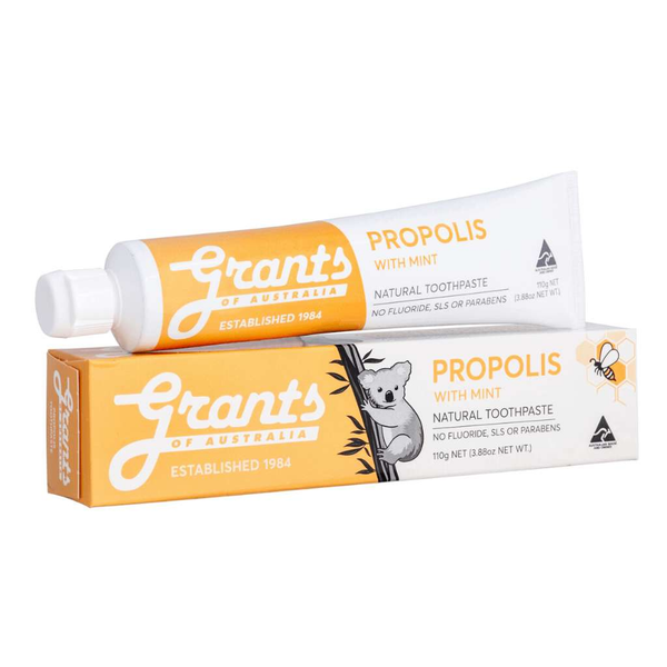 Grants of Australia Propolis with Mint Natural Toothpaste