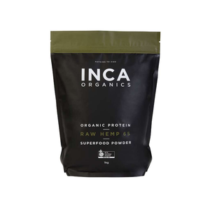 Inca Organics Certified Organic Raw Hemp Superfood Powder 1kg