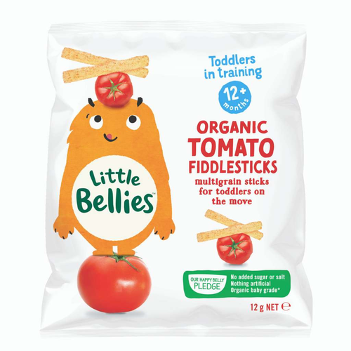 Club Trading & Distribution Little Bellies Organic Tomato Fiddlesticks - GoodnessMe