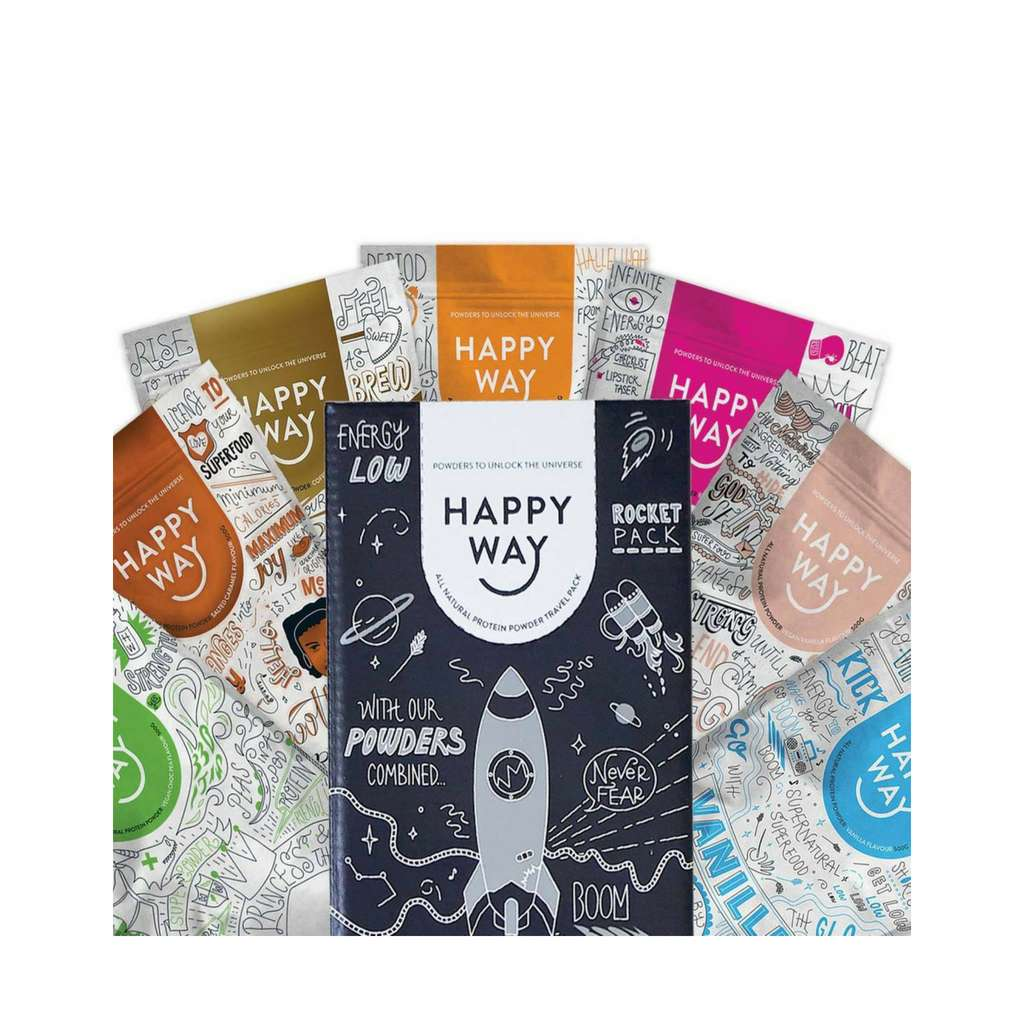Happy Way - Protein Travel Pack Pack of 7