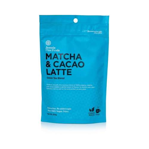 Jomeis Fine Foods	Matcha + Cacao Latte 100g