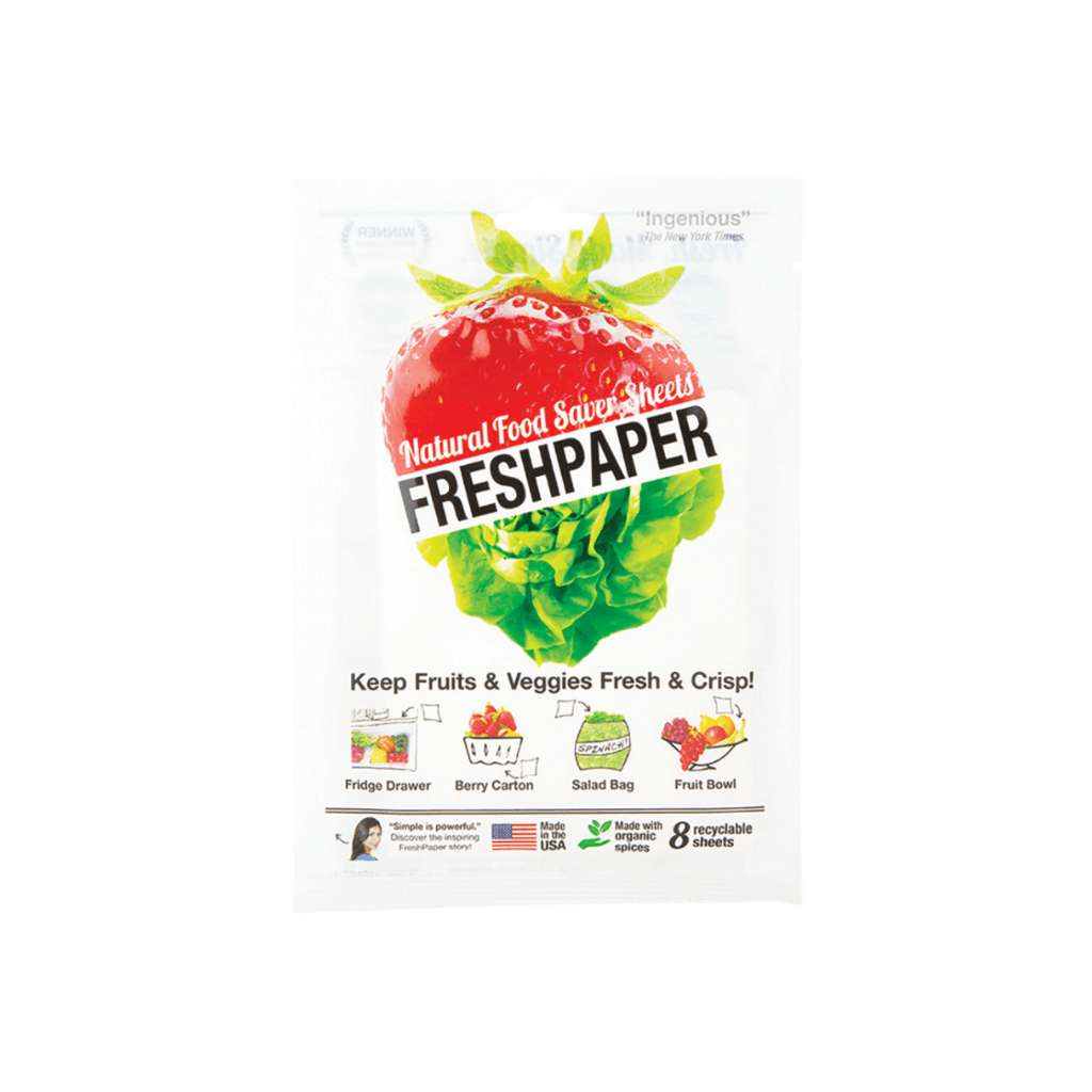 Fresh Paper Natural Food Saver Sheets