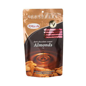 Morlife Dark Chocolate Almonds 125g