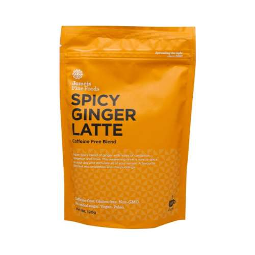Jomeis Fine Foods	Spicy Ginger Latte 120g - GoodnessMe