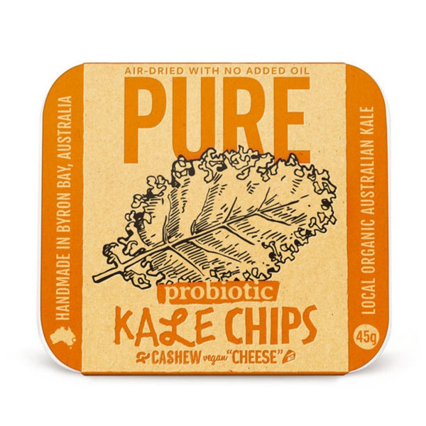 "Pure Snack Kale Chips 12 Pack - Cashew Vegan ""Cheese"""