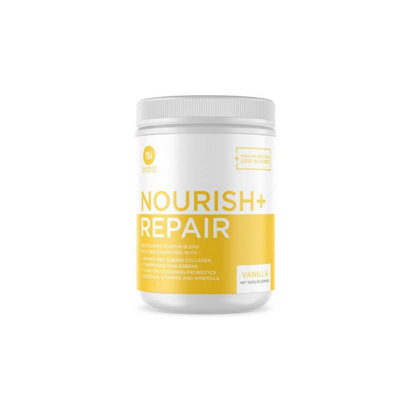 Nourished Nutrition - Nourish + Repair Revitalising Blend Vanilla 500g