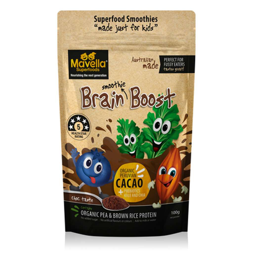 Mavella Superfoods Brain Boost 100g - GoodnessMe