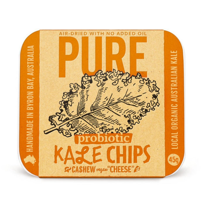 Extraordinary Foods Pure Kale Chips Cashew 'cheese' 45g - GoodnessMe
