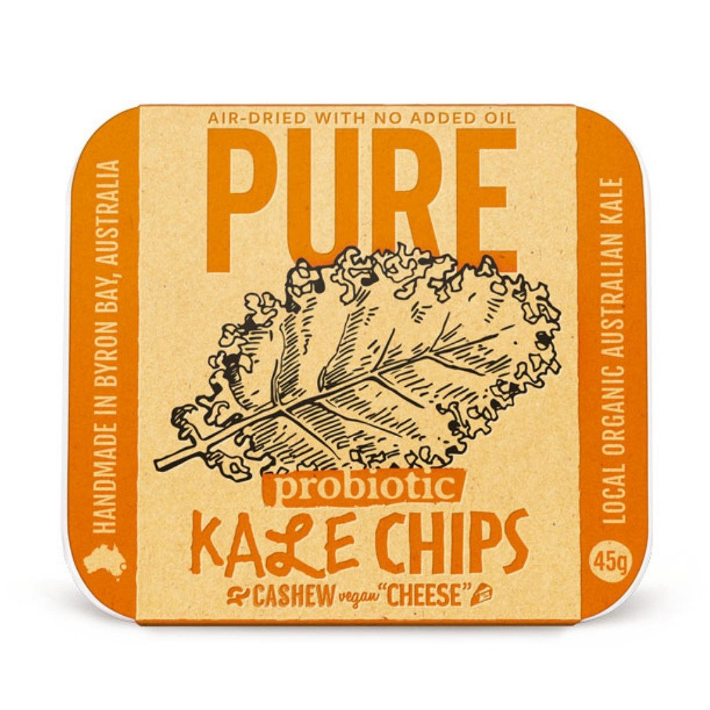Extraordinary Foods Pure Kale Chips Cashew 'cheese' 45g