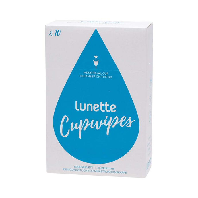 Lunette Disinfecting Wipes 10 pack - GoodnessMe