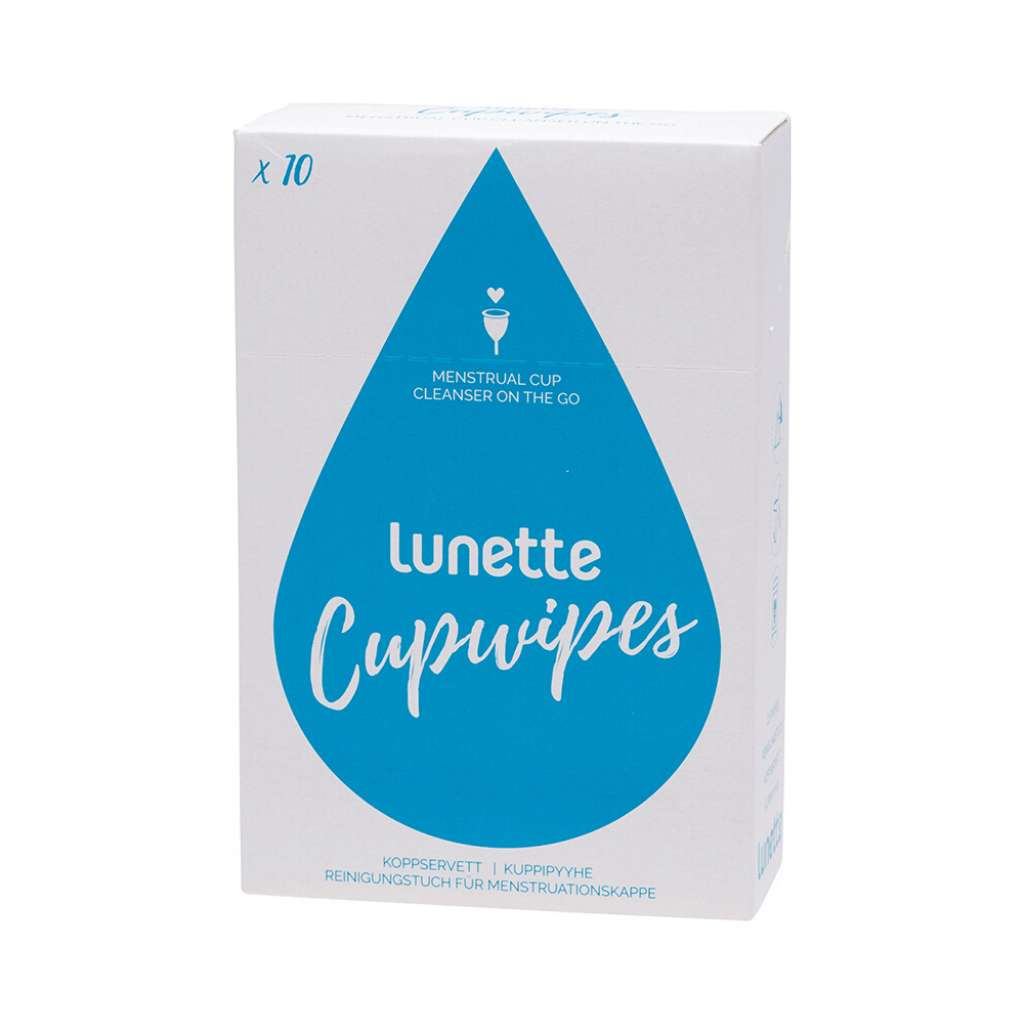 Lunette Disinfecting Wipes 10 pack