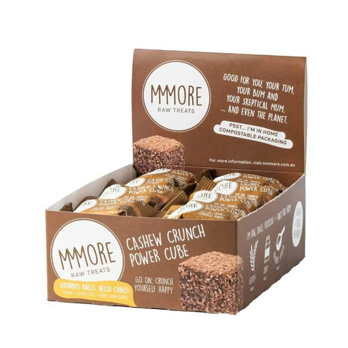 MMMore Cashew Crunch Power Cube 16 x 37g Box