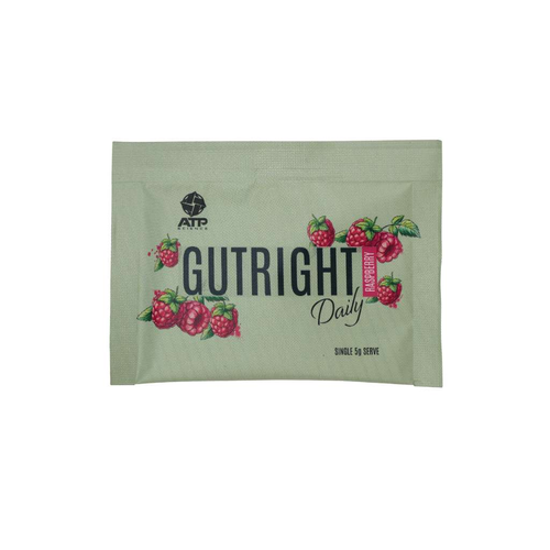 ATP Science Gutright Daily Raspberry 30g sachets - GoodnessMe