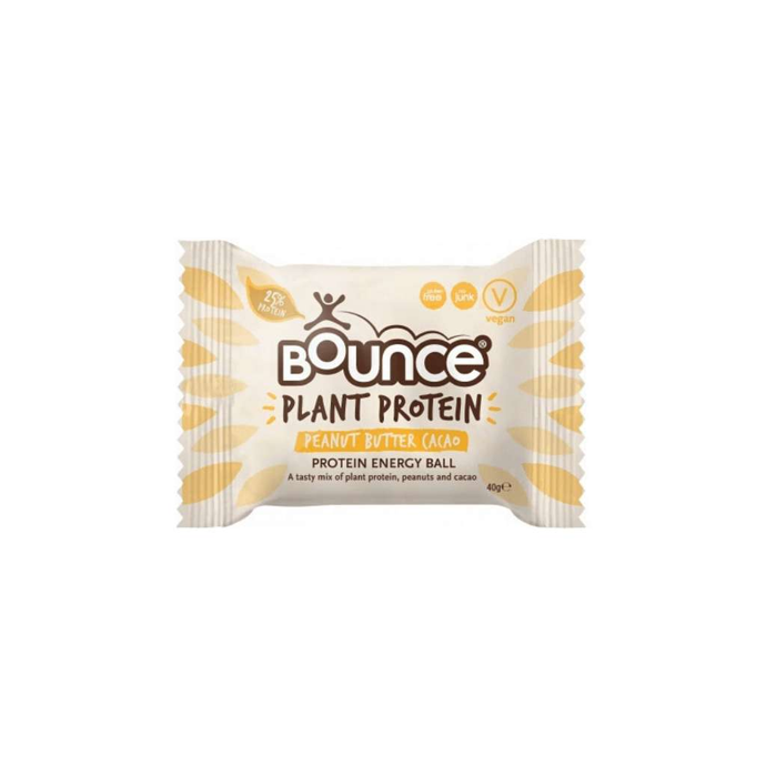 Bounce Balls Plant Protein Peanut Butter Cacao 12x40g